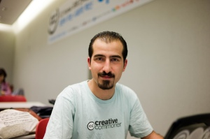 Bassel Safadi, photo by Joi Ito (CC BY).
